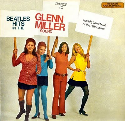 BEATLES HITS IN THE GLENN MILLER SOUND title=